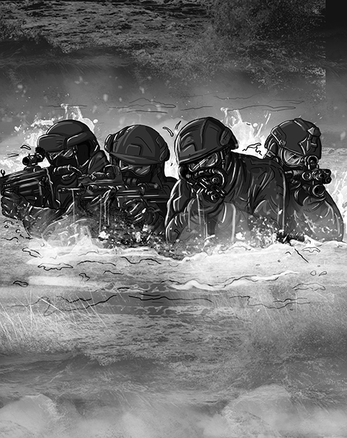 SIX_Concept 2 [Ocean Assault] Sketch