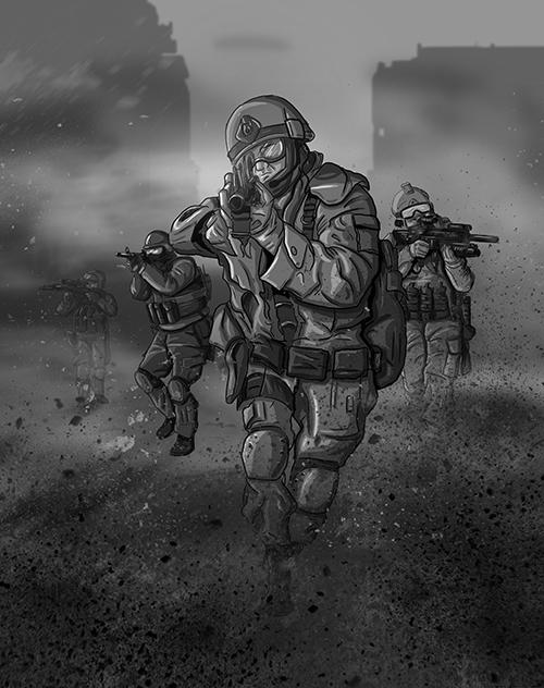 SIX_Concept 3 [Brave Soldiers]